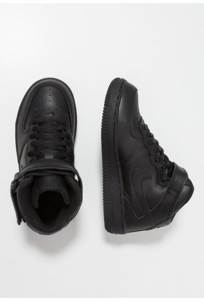 Nike AIR FORCE 1 MID - Baskets montantes black liquidation