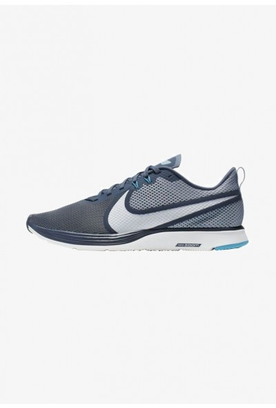 Nike ZOOM STRIKE - Chaussures de running neutres blue/grey/white liquidation