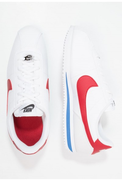 Nike CORTEZ BASIC  - Baskets basses white / varsity red liquidation