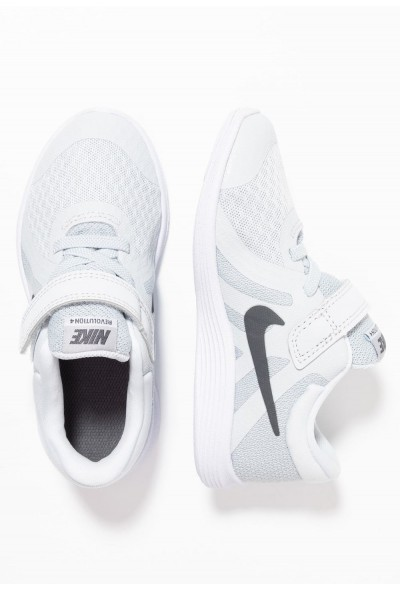 Black Friday 2020 | Nike REVOLUTION 4 - Chaussures de running neutres pure platinum/dark grey/wolf grey/white liquidation