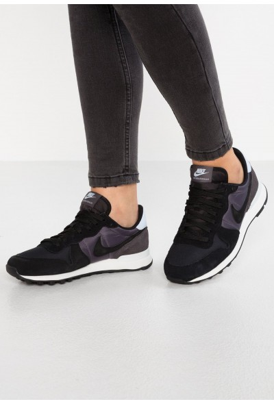 Nike INTERNATIONALIST - Baskets basses black/thunder grey/half blue/summit white liquidation