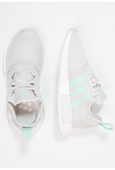 Adidas NMD_R1 - Baskets basses green one/clemin pas cher