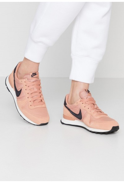 Nike INTERNATIONALIST - Baskets basses rose gold/oil grey/summit white liquidation