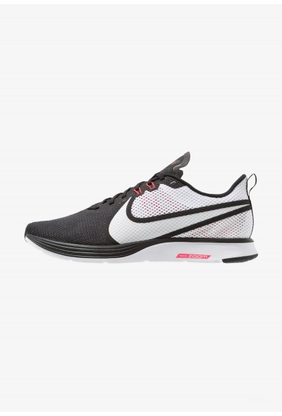 Nike ZOOM STRIKE - Chaussures de running neutres black/white/red orbit/anthracite liquidation