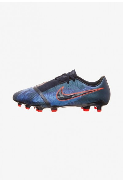 Nike PHANTOM ELITE FG - Chaussures de foot à crampons obsidian/white liquidation