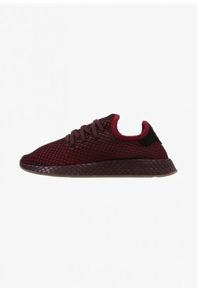 Adidas DEERUPT RUNNER - Baskets basses burgundy/ashgreen pas cher