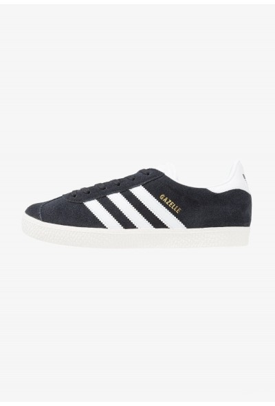Cadeaux De Noël 2019 Adidas GAZELLE  - Baskets basses core black/white/gold metallic pas cher