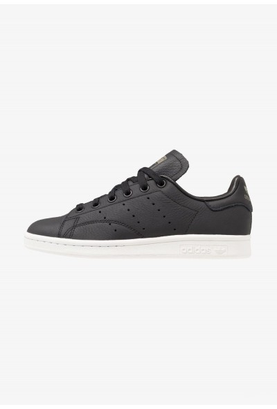 Adidas STAN SMITH - Baskets basses core black/crystal white/trace cargo pas cher