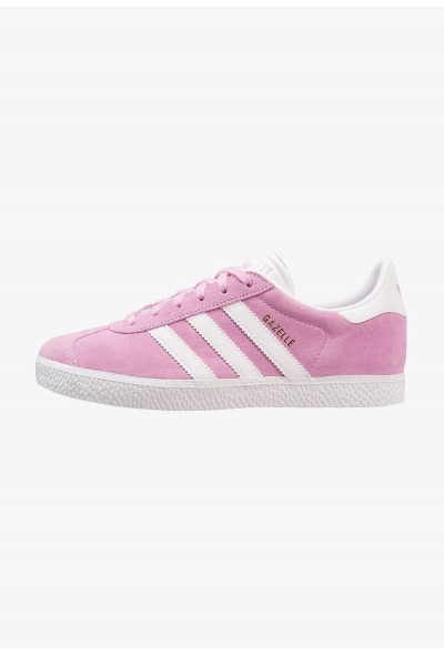 Adidas GAZELLE - Baskets basses clear lila/footwear white pas cher