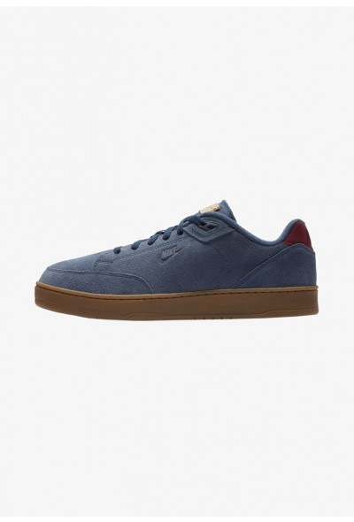 Nike GRANDSTAND II - Baskets basses navy/gum medium brown/vachetta tan/team red liquidation