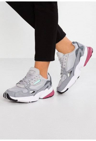Adidas FALCON - Baskets basses grey two/trace maroon pas cher