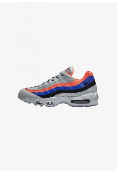 Nike AIR MAX 95 ESSENTIAL - Baskets basses pure platinum/bright mango/racer blue/black liquidation