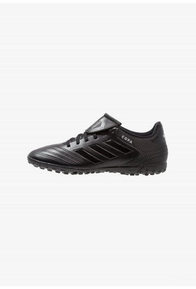 Adidas COPA TANGO 18.4  TF - Chaussures de foot multicrampons core black/footwear white pas cher