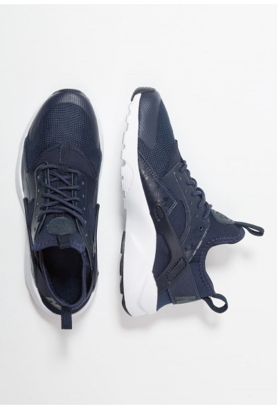 Black Friday 2020 | Nike AIR HUARACHE RUN ULTRA - Baskets basses obsidian/white liquidation