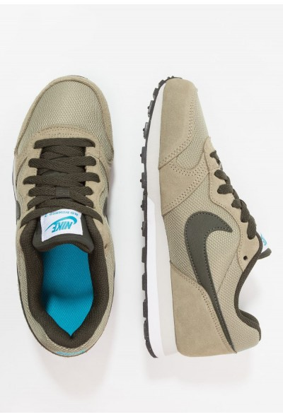 Nike MD RUNNER 2 - Baskets basses neutral olive/sequoia/light blue fury liquidation