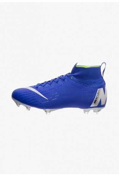 Black Friday 2020 | Nike Chaussures de foot à crampons blue/silver liquidation