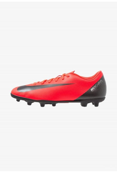Nike VAPOR 12 CLUB CR7 MG - Chaussures de foot à crampons bright crimson/black/chrome liquidation