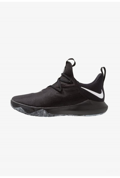 Nike ZOOM SHIFT 2 - Chaussures de basket black/white/metallic silver liquidation