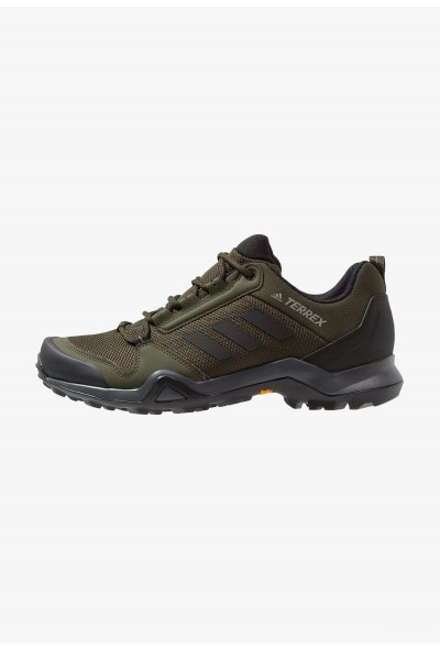 Adidas TERREX AX3 - Chaussures de marche night cargo/core black/raw khaki pas cher