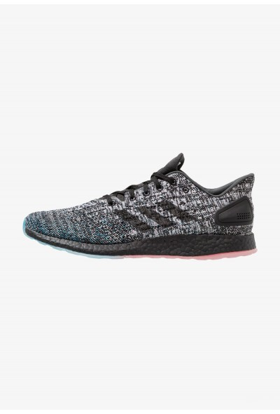 Adidas PUREBOOST DPR LTD - Chaussures de running neutres core black/active red pas cher