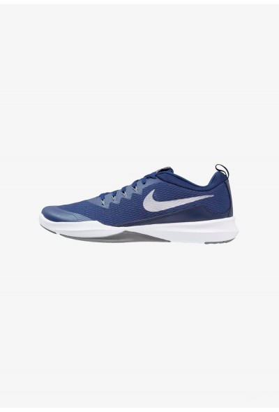 Black Friday 2019 | Nike LEGEND TRAINER - Chaussures d'entraînement et de fitness blue void/metallic silver/cool grey liquidation