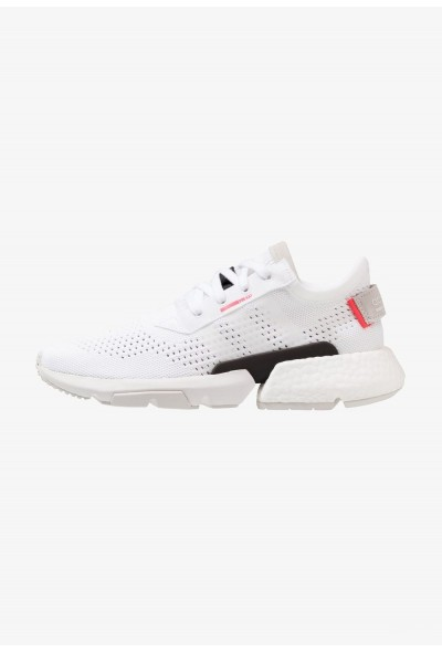 Adidas POD-S3.1 PK - Baskets basses footwear white/shock red pas cher