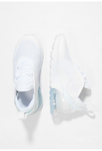 Nike AIR MAX 270 - Baskets basses white/mtlc silver liquidation
