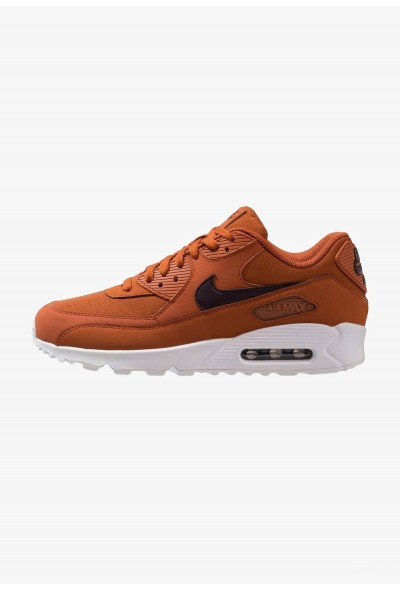 Nike AIR MAX 90 ESSENTIAL - Baskets basses dark russet/burgundy ash/white liquidation