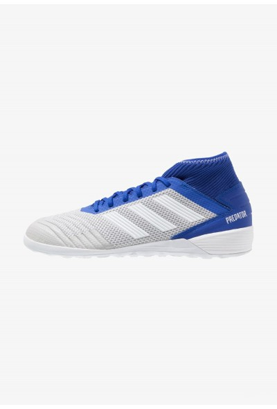 Adidas PREDATOR 19.3 IN - Chaussures de foot en salle grey two/footwear white/bold blue pas cher