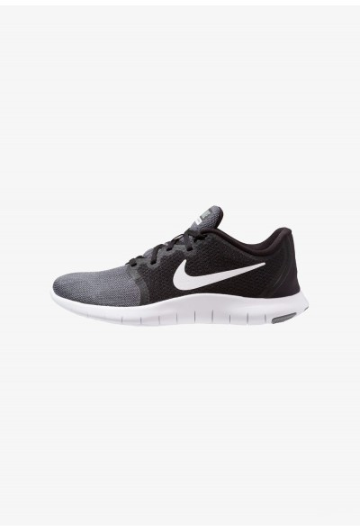 Nike FLEX CONTACT 2 - Chaussures de running compétition black/white/cool grey/anthracite liquidation