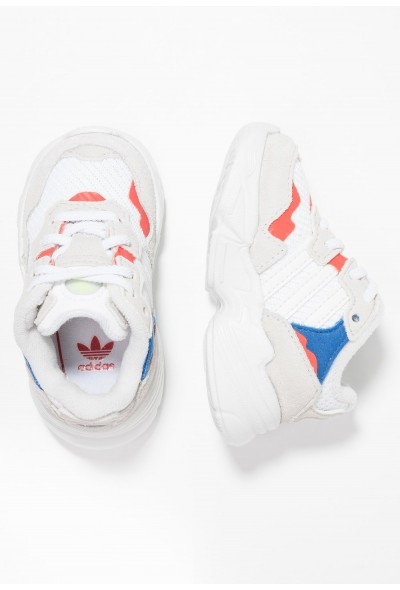 Adidas YUNG-96 EL - Mocassins footwear white/crystal white/active red pas cher