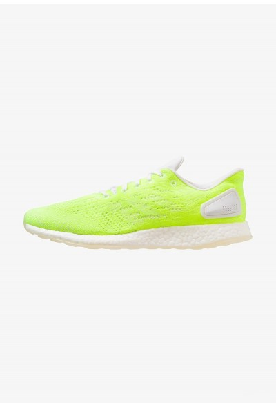 Adidas PUREBOOST DPR LTD - Chaussures de running neutres - footwear white/hi-res footwear white/hi-res-yellow pas cher
