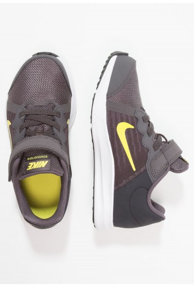 Nike DOWNSHIFTER 8 - Chaussures de running neutres - thunder grey/dynamic yellow thunder grey/dynamic yellow-oil grey liquidation