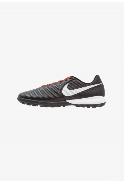 Nike TIEMPO LUNAR LEGENDX 7 PRO TF - Chaussures de foot multicrampons black/pure platinum/light crimson liquidation