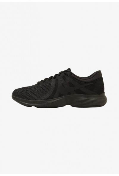 Black Friday 2019 | Nike REVOLUTION 4 EU - Chaussures de running neutres black/black liquidation