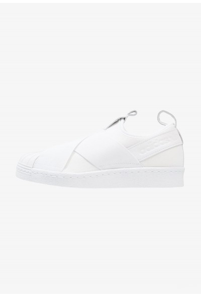 Adidas SUPERSTAR SLIPON - Mocassins footwear white pas cher