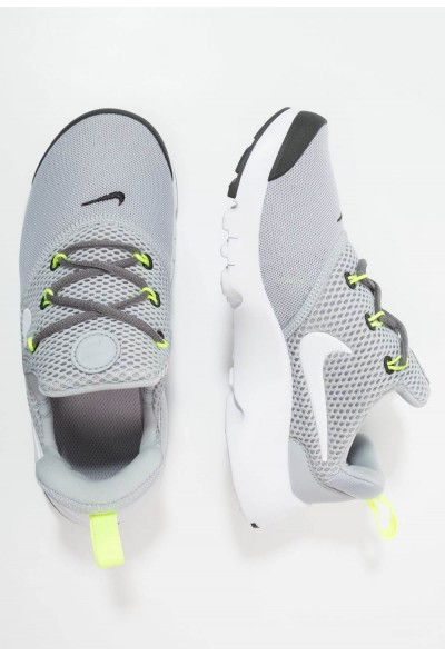 Nike PRESTO FLY - Baskets basses wolf grey/white/black/volt liquidation