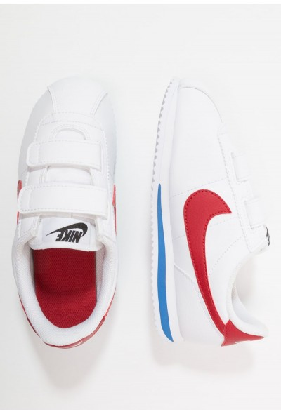 Nike CORTEZ BASIC - Baskets basses white/varsity royal/black/varsity red liquidation