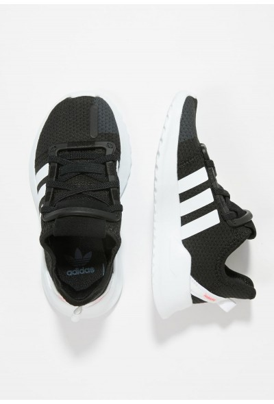 Adidas PATH RUN - Baskets basses black pas cher