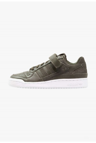 Adidas FORUM - Baskets basses night cargo/shock pink pas cher
