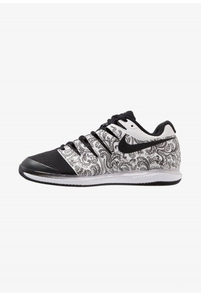 Black Friday 2020 | Nike AIR ZOOM VAPOR X HC - Baskets tout terrain white/black liquidation