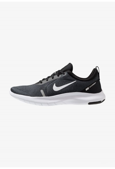 Cadeaux De Noël 2019 Nike FLEX EXPERIENCE RN 8 - Chaussures de course neutres black/white/cool grey/reflect silver liquidation