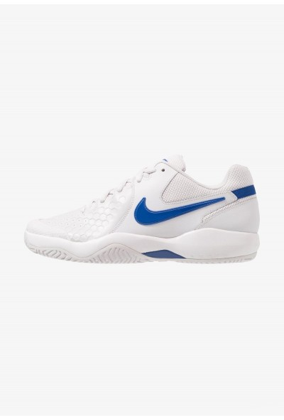 Nike AIR ZOOM RESISTANCE - Chaussures de tennis sur terre battue vast grey/indigo force liquidation