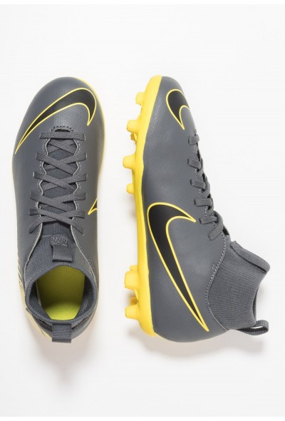 Nike CLUB MG - Chaussures de foot à crampons dark grey/black/opti yellow liquidation