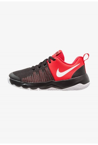 Black Friday 2019 | Nike TEAM HUSTLE QUICK - Chaussures de basket black/white/university red liquidation
