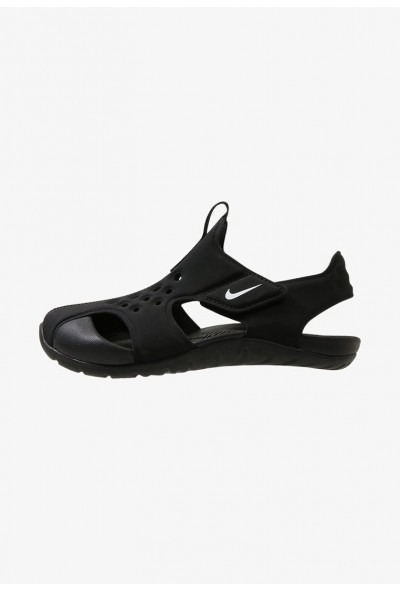 Black Friday 2020 | Nike SUNRAY PROTECT  - Sandales de bain black/white liquidation