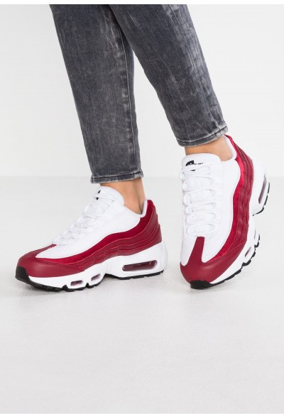 Nike AIR MAX 95 LX - Baskets basses red crush/white/black liquidation