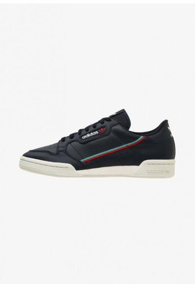 Adidas CONTINENTAL 80 - Baskets basses colligiate navy/scarle/hiraqu pas cher