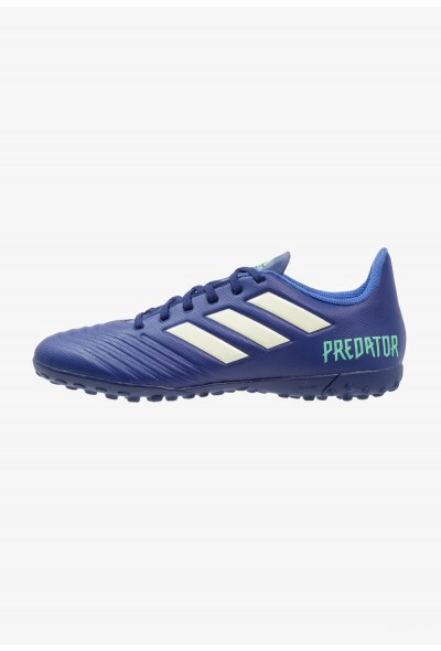 Adidas PREDATOR TANGO 18.4 TF - Chaussures de foot multicrampons - university ink/aero green/hi university ink/aero green/hi-res green pas cher