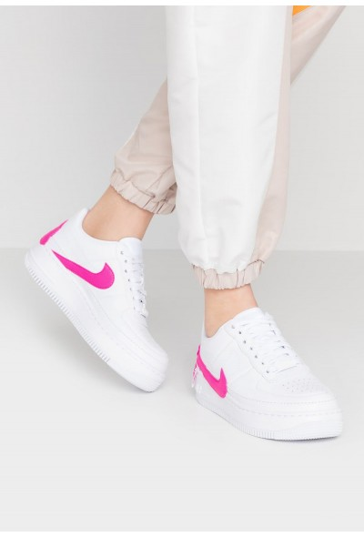 Black Friday 2020 | Nike AF1 JESTER XX - Baskets basses white/laser fuchsia liquidation